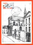 "Carte Maximum Chaumont 7 Et 8 Mai 1983 "" Lycée Bouchardon "" - Cartas Máxima"
