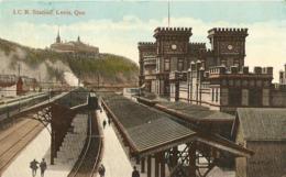 J.C.R. Station, Levis, Que - Levis