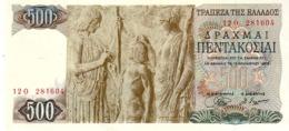Greece P.197 500  Dracme 1968  A-unc - Griechenland