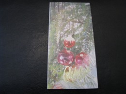 USSR Soviet Russia Unused Postcard Clean Poklad Photo Happy New Year ! Christmas Tree Balls 1992 - New Year
