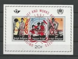 Belgium 1967 Thanksgiving S/S Privé  OCB BF PR146 ** - Blocks & Kleinbögen 1962-....