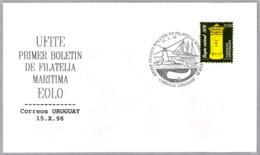 UFITE - Primer Boletin De Filatelica Maritima Eolo - BALLENA - WHALE. Uruguay 1996 - Ballenas