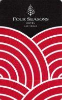 FOUR SEASONS Las Vegas - Hotel Room Key Card, Hotelkarte, Schlüsselkarte, Clé De L'Hôtel - Hotelkarten
