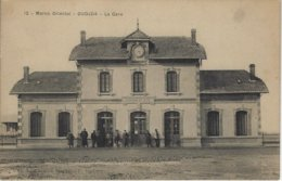 MAROC Oriental - OUDJA - La Gare (voyagé) - Autres