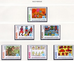 YEAR INTERN. OF CHILD - MOZAMBICO  - Mi. Nr. 694/699 - NH - (6532-24.) - Mozambico