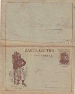 Carte-Lettre Des Alliés, Effigie De Joffre - Nos Héros, Voir Scan Pour état (salissures) - Guerre 1914-18