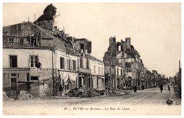 51 REIMS - Ruines Rue De Laon - Reims