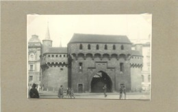 POLOGNE - Cracovie/Krakow, La Barnacane Fortification (photo Années 40/50, Format 9,8m X 6,7cm) - Lieux