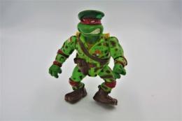 Vintage TEENAGE MUTANT NINJA TURTLE : USTF RAFAEL United States Turtle Force Soldier-  Playmates - TNMT - 1991's -figuur - Figurines