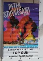 Deauville Saint Gatien World Music Show TOP GUN - Affiches
