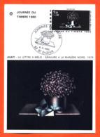 """Carte Maximum Saint Dizier Journée Du Timbre 8 Mars 1980 """" Avati - La Lettre à Mélie """" - Cartas Máxima"""