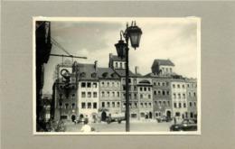 POLOGNE - Warszawa/ Varsovie,place Du Vieux Marché (photo Années 40/50, Format 10cm X7cm) - Lieux
