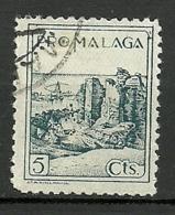Pro Malaga - Spanish Civil War Labels