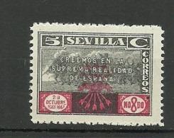 Sevilla Falange Española - Spanish Civil War Labels
