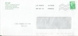 """Enveloppe Avec Cachet Manuel """"Point Poste Les Fins 252400"""" - Postmark Collection (Covers)"""