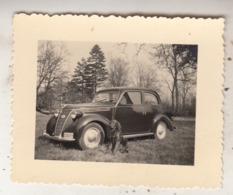 Old Timer - Chien - Photo 5.5 X 7 Cm - Automobiles