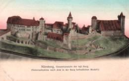 CPA - NÜRNBERG - Gesamtansicht Der Kgl.Burg ... - Nuernberg
