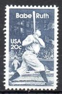 USA. N°1485 De 1983. Babe Ruth. - Baseball