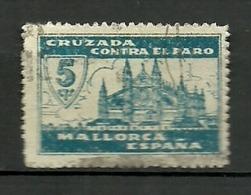 Cruzada Contra El Paro . Mallorca. - Viñetas De La Guerra Civil