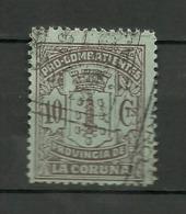 Pro Combatientes La Coruña. - Spanish Civil War Labels