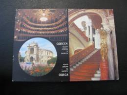 USSR Soviet Russia Unused Postcard Clean Bogdanova Sveta Photo Odessa Opera And Ballet Theater 1987 - Buildings & Architecture
