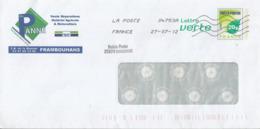 """PAP Avec Cachet Manuel """"Relais-Poste 25074 BONNETAGE"""" - Postmark Collection (Covers)"""