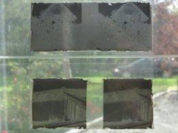 La Roche Bernard (56 Morbihan) Plaque De Verre 1913 Viaduc Et Villa Ker Antoinette -vue Stéréoscopique Photo Stéréoscope - Plaques De Verre