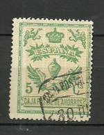 Caja Postal De Ahorro. - Spanish Civil War Labels