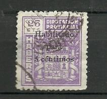 Diputacion Provincial - Spanish Civil War Labels
