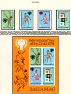 YEAR INTERN. OF CHILD - BAHAMAS  - Mi. Nr. 436/439 + BF 26 - NH - (6532-25.) - Bahamas (1973-...)