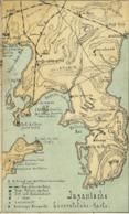 Korea Coree, Russo-Japanese War Caricature Japanese General Staff Map (1905) - Korea (Zuid)