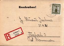 REGISTERED PS 1944 , NSDAP , HITLERJUGEND - Briefe U. Dokumente
