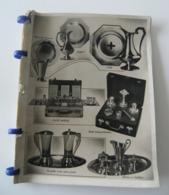 Catalogue-articles-religieux-ecclesiastiques-vintage-25-pages-croix-calices - Santini