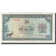 Billet, Rhodésie, 10 Dollars, 1975, 1975-11-19, KM:33h, TB - Rhodesia