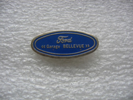 Pin's Du Garage Bellevue, Concessionnaire FORD - Ford