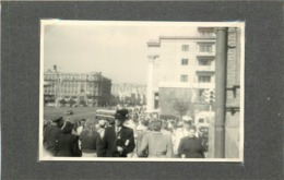 RUSSIE - Moscou, Rue Gorki (photo Années 40/50, Format 10cm X 7cm) - Lieux
