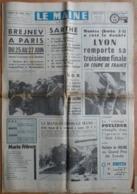 """1973 Poulidor Triomphe Dans Le """"Midi-Libre"""".Train,Le Mans-Mézidon,ultime Voyage.Soulitré,on Recherche Un Habitant... - Desde 1950"""
