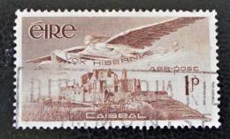 L'ANGE VICTOR & CHATEAU DE CAISEAL 1948 - OBLITERE - YT PA 1 - MI 102 - 1937-1949 Éire