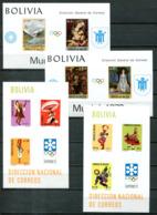 5061 - BOLIVIEN - Block 32, 33, 34, 35 ** - OLYMPIA / OLYMPICS - Bolivien