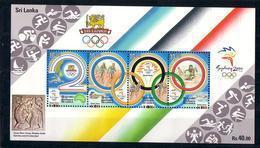 Olympics 2000 - Shooting - Cycling - SRI LANKA - S/S MNH - Summer 2000: Sydney