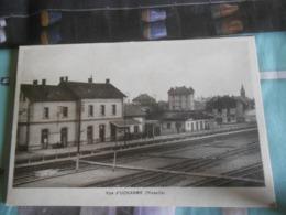 Carte Postale Uckange   54   Vue  Gare - France