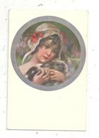 Cp ,illustrateur ,signée , Milano,Uff, Rev. Stampa N. 5092 , 120-4,  Vierge - Andere Illustrators