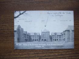 Etats-Unis- Carte Postale Ancienne De L'Université D'Evenston - Etats-Unis