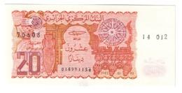 ALGERIA20DINARS1983P133UNC.CV. - Algerien