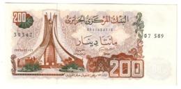 ALGERIA200DINARS1983P135AUNC.CV. - Algerien
