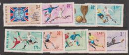 Hungary S 2242-50 1962 Chile World Cup, MNH - Fußball-Weltmeisterschaft