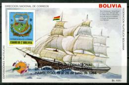 5073 - BOLIVIEN - Block 137 ** - SCHIFF / UPU / SHIP - Bolivien