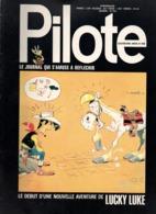 Pilote N°658 Du Punch Pour Le Catch - Lucky Luke - Piloto-Flashes - Cubineptidioties De 1972 - Pilote