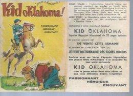 PUB KID OKLAHOMA !  N° 1  -  S.A.G.E. - Sagédition