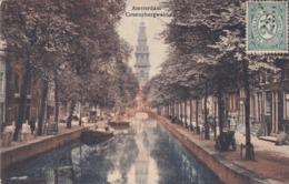 Amsterdam Groeneburgwal # 1913 Schepen Volk Pz Voorzijde Uitg.Brouwer  119 - Amsterdam